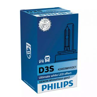 Philips D3S Xenon WhiteVision Gen 2 Box